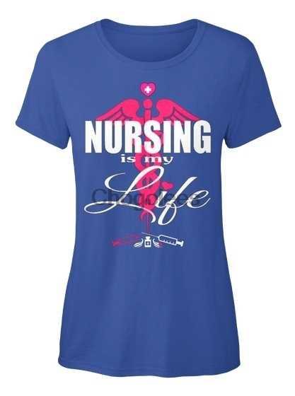 Медсестра медсестры Rn Cna Lpn... -Стандартная Женская футболка для моей жизни