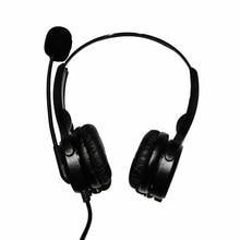 אוזניות USB Wired רשמי טלפון אוזניות עם מיקרופון