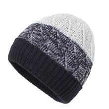 Шапка мужская зимняя вязаная шапка акриловая теплая Осенняя