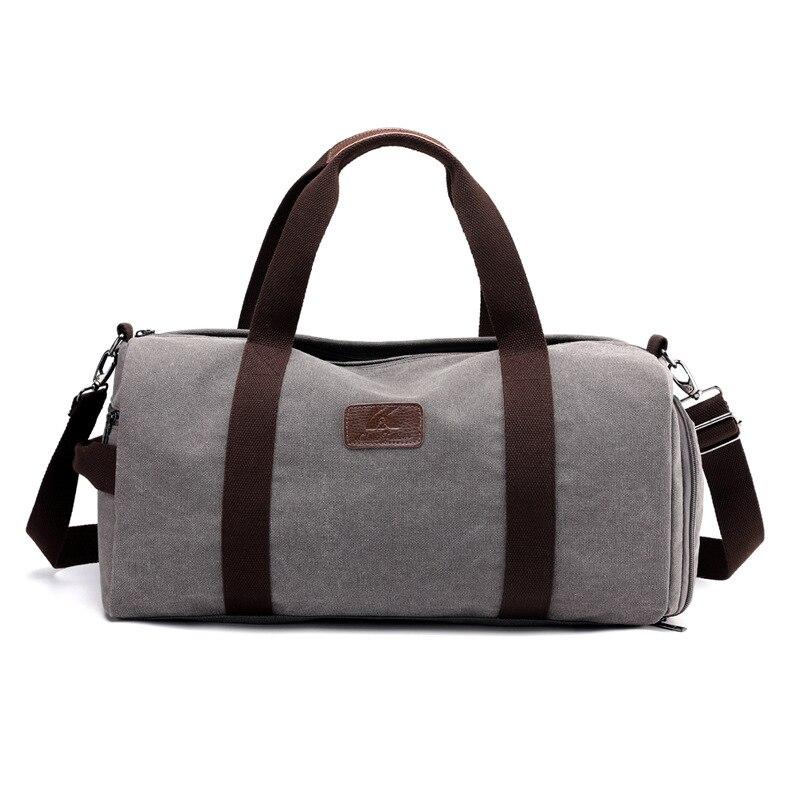 Sports Bag Men For Gym Canvas Sport Bag For Women Fitness Men Training Shoulder Bag Ladies Gym Yoga Bag Big Athletic Travel Bag 7