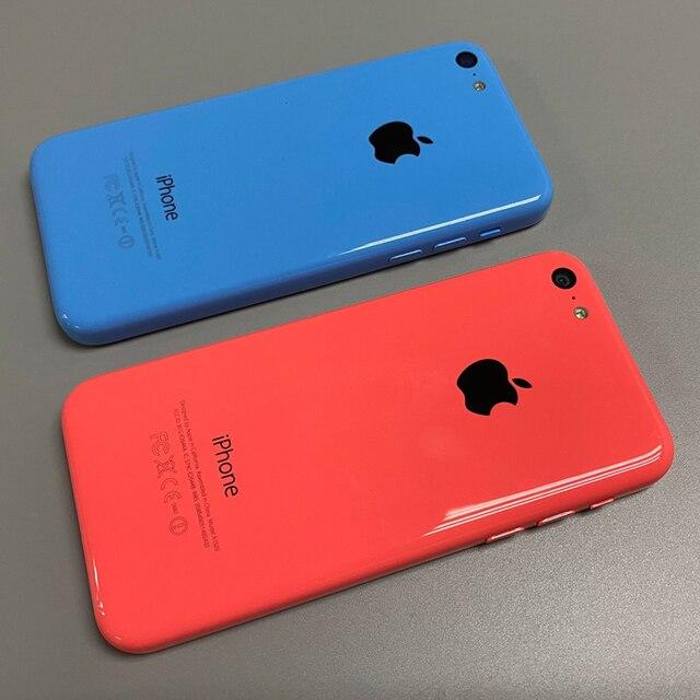 Used iPhone 5c Original Unlocked Apple iPhone 5C IOS GPS WIFI Dual Core 4.0'' Display 8GB/16GB/32GB iphone5c Cellphone Free Gift 2