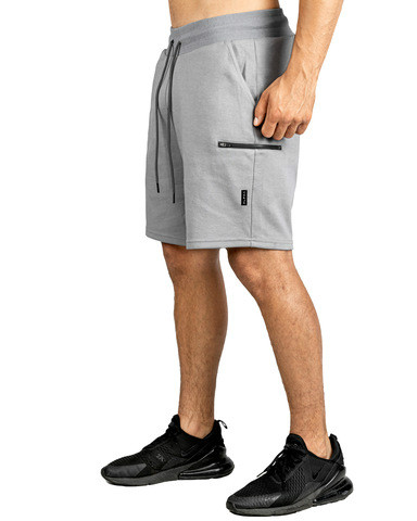 Mens Shorts Summer Casual Shorts Men Jogger Workout Short Pants With Zipper Packets