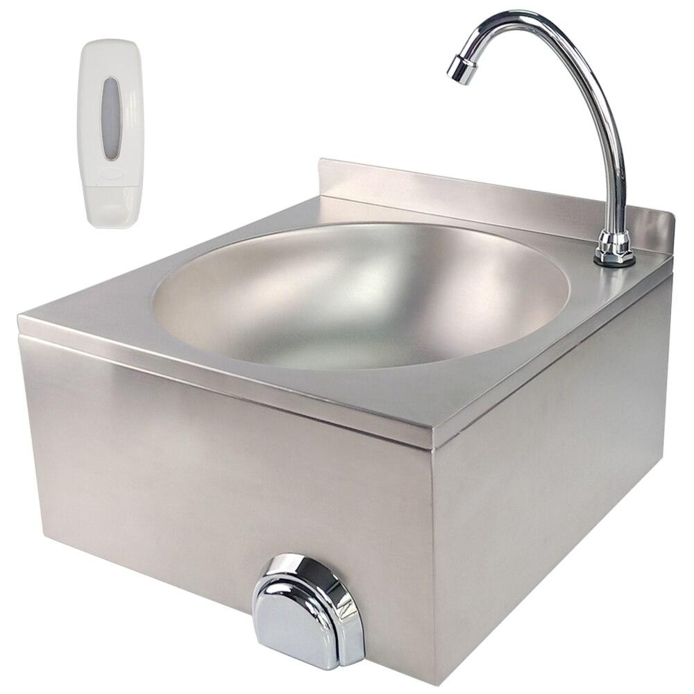Lavabo de main d'évier de cuisine de cuvette simple d'acier inoxydable d'évier approuvé par CE avec le robinet