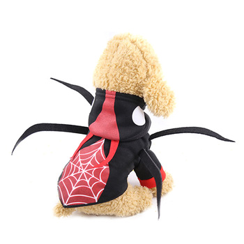 Beetle Spider Dog Costume Halloween Dog Clothes Cosplay Puppy Coat French Bulldog Pug Pet Halloween Costume Clothing For Dogs 2