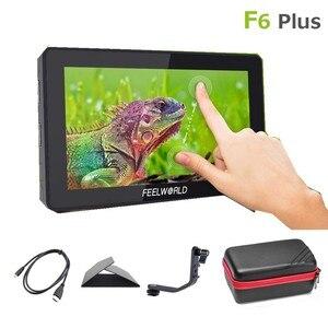 Image 2 - FeelworldカメラモニターF6 プラス 5.5 インチ 3D lutタッチスクリーン 4 hdmi ips fhd 1920X1080 モニターデジタル一眼レフカメラ