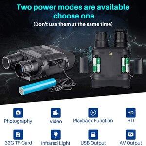 Image 4 - 7x31 HD kızılötesi dijital gece görüş cihazı geniş ekran avcılık optik görüş Video fotoğrafçılığı gece dürbün kamera yok Tripod