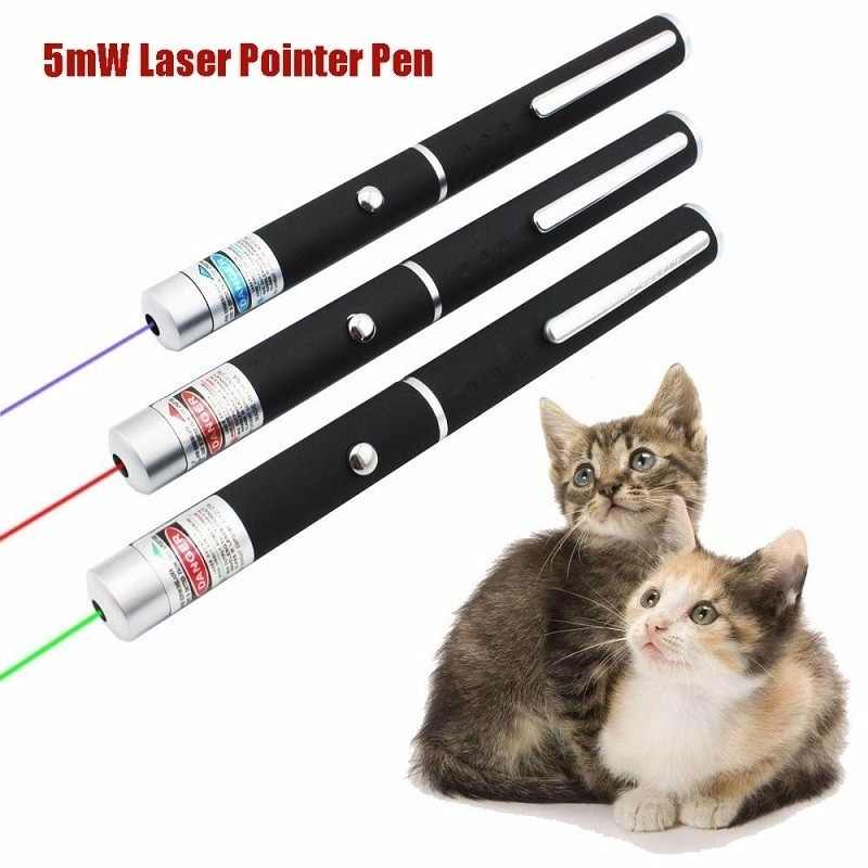 Green Red Purple Interactive Pen Training Toy Cat and Dog