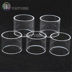 FATUBE 5pcs GLASS CUPS for CP 3 2 V1.2 / CP TF / Manta MTL 2.0 RTA / Manta Subohm Tank GLASS TUBE