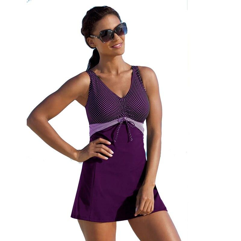 ΩUltimate SaleSummer Swimwear Biquini Bathing-Suit Plus-Size Women 4XL 5XL Classic Big Dot Polka-Dot