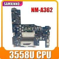 NOVA ACLU1 ACLU2 UMA NM-A272 NM-A362 Para Lenovo G50-70 Z50-70 G50-80 Laptop Motherboard com 3558U
