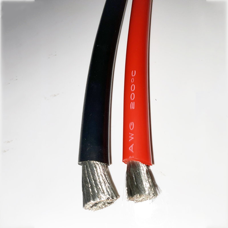 Câble de livraison Flexible câble de Silicone fil de batterie 12AWG 14AWG 16 AWG 18AWG 20AWG 22AWG 24AWG 26AWG 30AWG rallonge