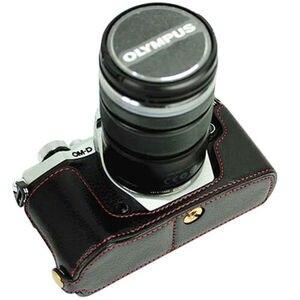Image 5 - LimitX עור מפוצל מקרה תחתון פתיחת גרסה מגן חצי גוף כיסוי בסיס עבור אולימפוס OMD EM5 OM D E M5 Mark II 2 מצלמה