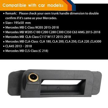 HD 1280x720p Reversing Rear View Backup Camera for Mercedes-Benz C -Class 2015 W205 C180 C200 C280 C300 C350 C63  CLA C117