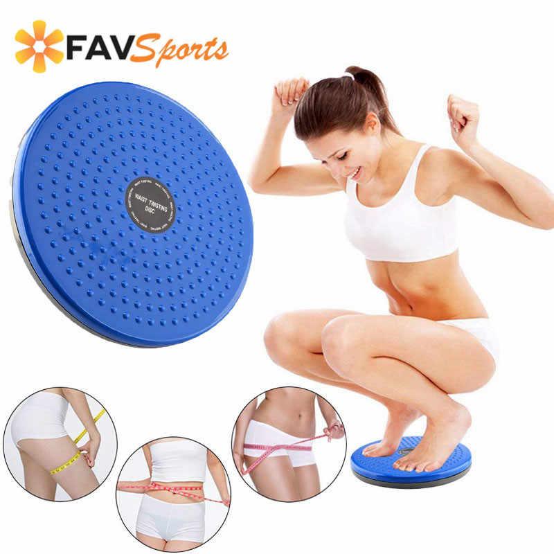 Фитнес вращающийся диск для талии баланс доска физический массажные коврики потеря веса тела формирование Twister доска для тренировок