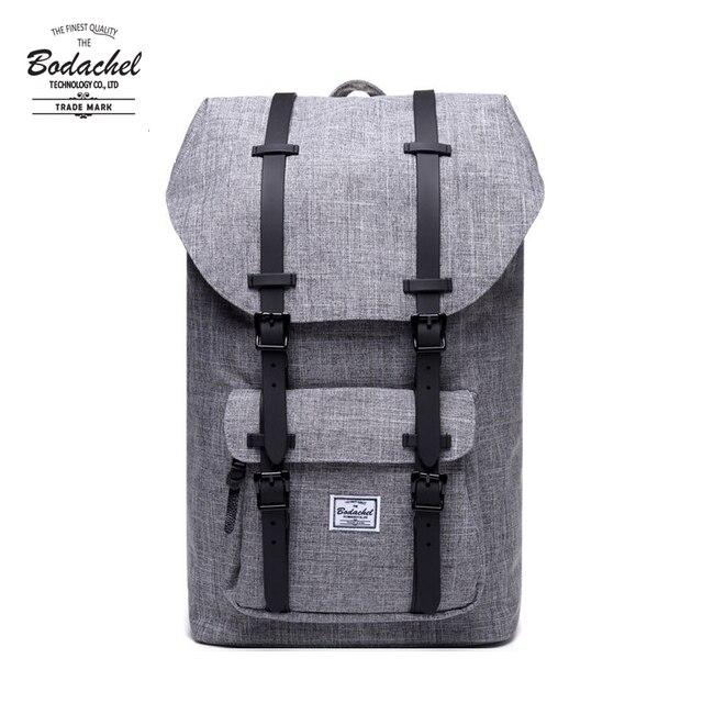 2020 Bodachel Ba Lô Nhỏ Mỹ Nam Túi Trường Bagpack Dung Lượng Lớn Máy Tính Laptop Có Túi 24L Phong Cách Ba Lô Mochila