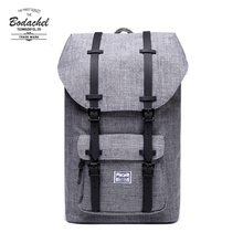 2020 bodachelバックパックリトルアメリカ男性バッグスクールbagpack大容量コンピュータラップトップリュックサック 24Lスタイルナップザックmochila