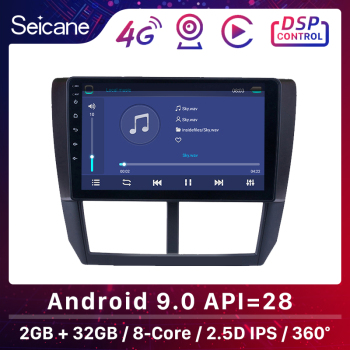 Seicane Android 9.0 Car Multimedia Player 9 Inch For Subaru Forester 2008 2009 2010 2011 2012 Support Rearview camera DVR TPMS image