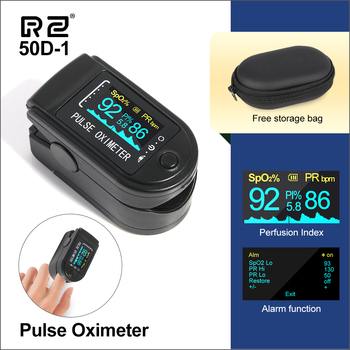 RZ Portable Finger Oximeter Fingertip PulseOximeter Medical Equipment With OLED Display Heart Rate Spo2 PR Pulse Oximeters - discount item  29% OFF Health Care