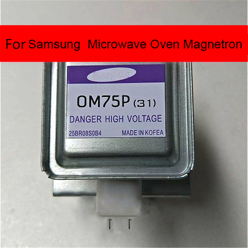 For Samsung OM75P(31) OM75S(31) Microwave Oven Magnetron OM75P(31) Microwave Parts Accessories