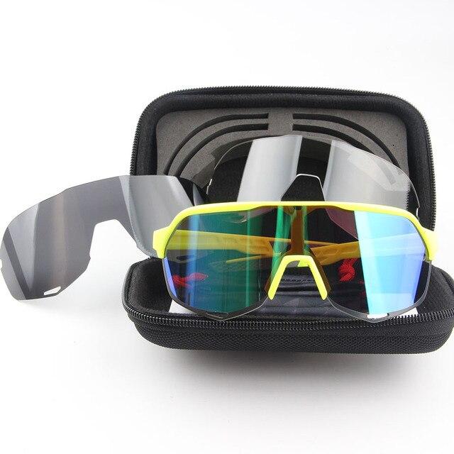 Óculos de ciclismo s2 homem óculos de ciclismo mountain bike ciclismo eyewear uv400 peter sagan equitação óculos de sol acessórios 4