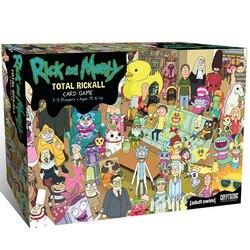 Hot Rickall Total Do Jogo de Mesa Jogo De Cartas pickle rick Rick e Morty Cooperativa
