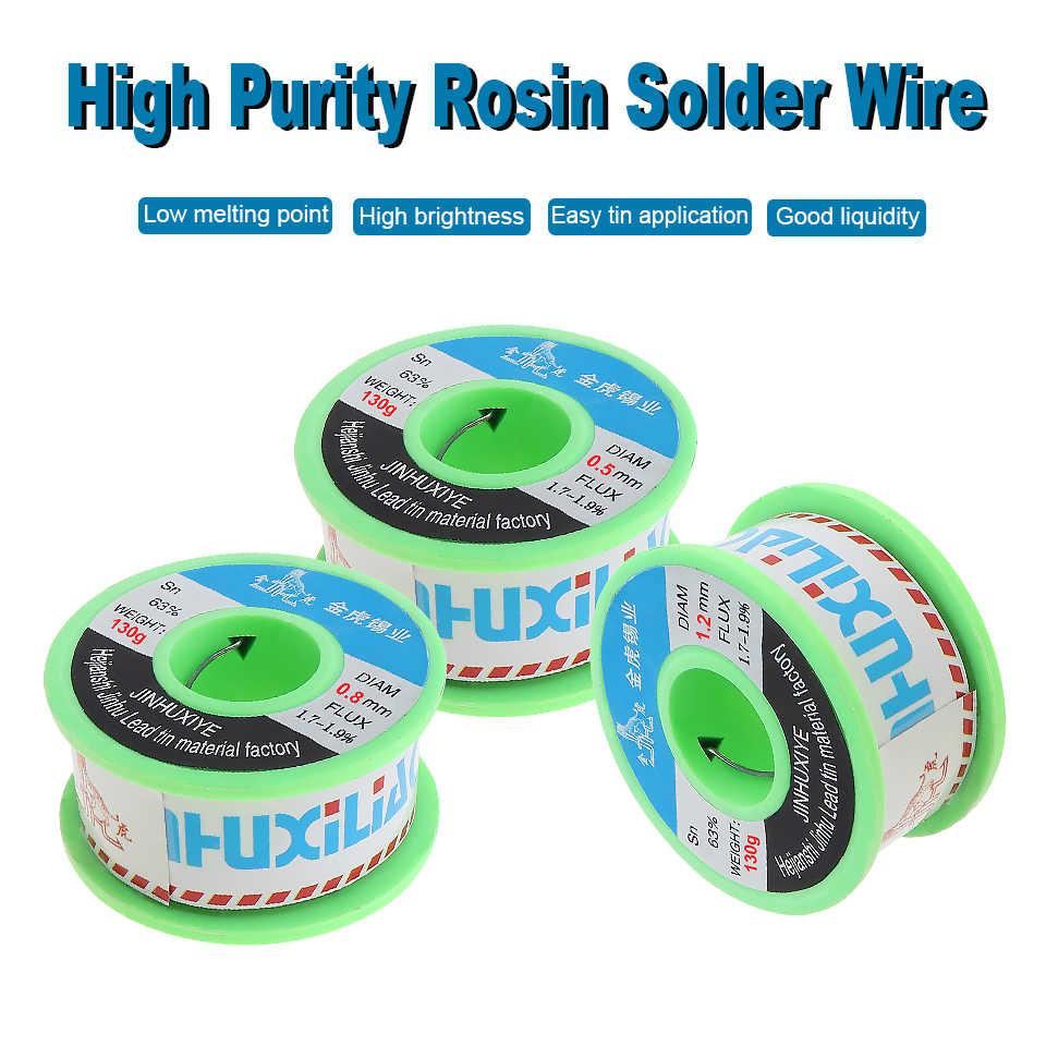 1.5MM 1.8/% Flux Fine Solder Wire Welding Reel Tube Tin lead Line Core Soldering