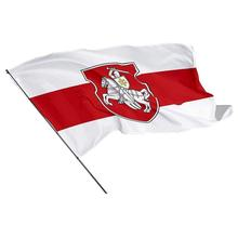 2 Sizes Belarus Flag White Knight Pagonya Flag White Home Decoration Red Holiday White Y1A3
