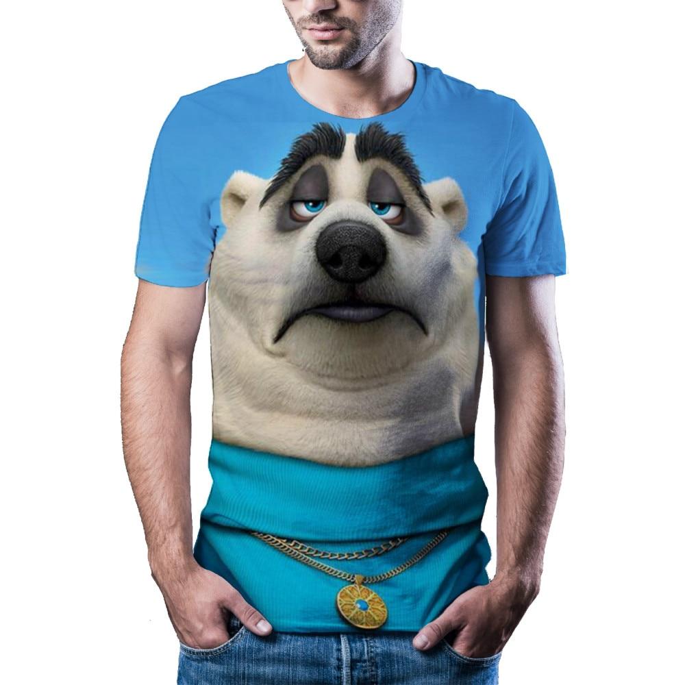 Новинка 2021, мужская и женская одежда с животными, модная и красивая 3d-футболка, Повседневная футболка с рукавом, мужская и женская одежда. In