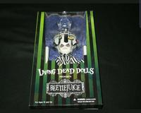 Hot Living Dead Dolls Exclusives LDD Presents Tim Burton Film Showtime Beetlejuice Huge 36cm Action Figure Model Toy