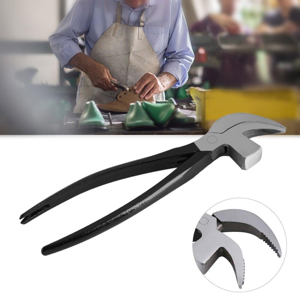 Shoemaking Plier,45# Steel Cobbler Plier for Shoemaking Leather Craft DIY Working Tool Beak Shape Hand Operated