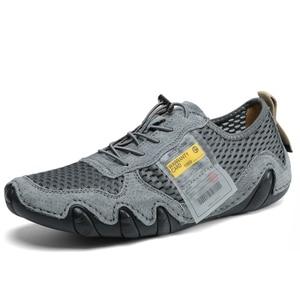 Image 4 - Туфли мужские из натуральной кожи, повседневные Мокасины, удобная обувь на плоской подошве, большие размеры 46