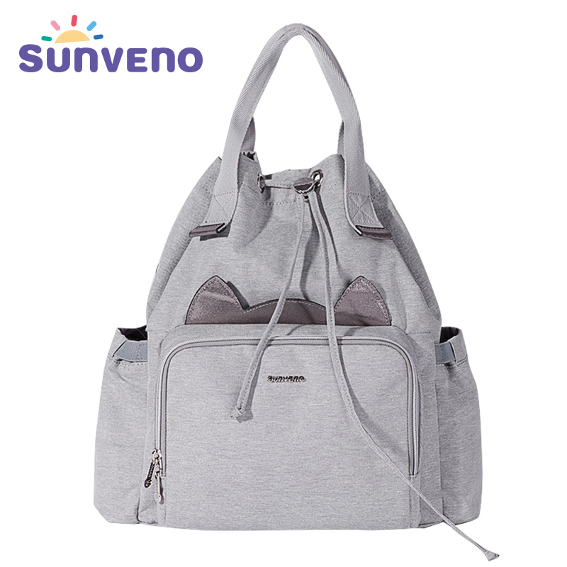 Sunveno Fashion Mummy Maternity Diaper Bag Nursing Bag Travel Backpack Designer Baby Bag Baby Care Nappy Backpack