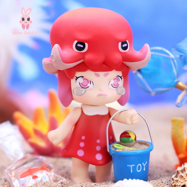 Blind Box Toys VINA Deep Sea Romance Blind Box Guess Bag Caja Ciega Blind Bag Toys Anime Figures Cute Gift Model Sea Animals 2