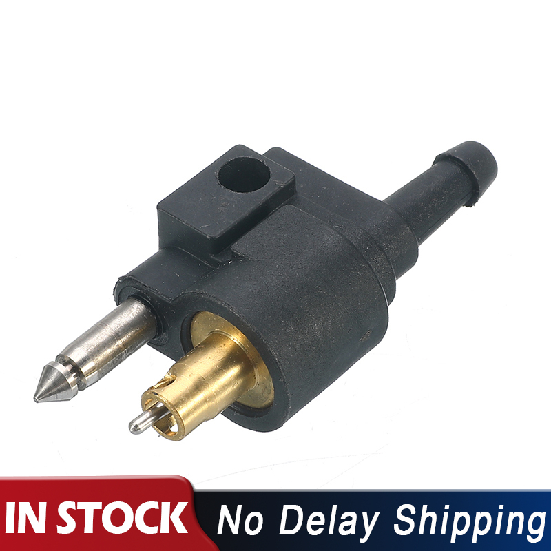 """UK Fuel Line Tank Connector For Yamaha Outboard Engine 1//4/"""" 6mm Male Mount Hose"""