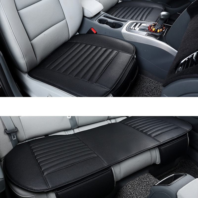Car Seat Cover PU Leather Chair Protector Auto for <font><b>BMW</b></font> 3 Series E46 E90 E91 E92 E93 F30 F31 F34 F35 <font><b>318i</b></font> 320d 335i 320i <font><b>E30</b></font> E36 image