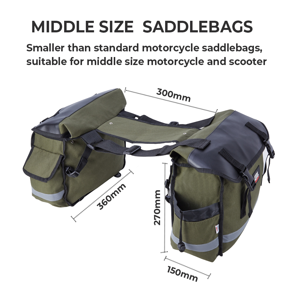 Image 5 - Motorcycle Tool Bag Saddle Luggage Bags For Touring Road King Electra STREET Glide Softail BREAKOUT Sportster 883 1200