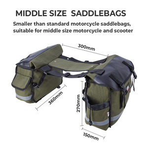 Image 5 - Narzędzie motocyklowe torba siodło torby bagażowe dla Touring Road King Electra przemieszczanie się po ulicy Softail BREAKOUT Sportster 883 1200