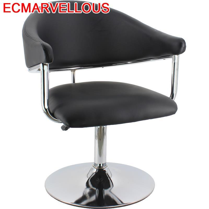 Stoel Hair Furniture Beauty Cabeleireiro Makeup Kappersstoelen Barbeiro Sedia Stoelen Cadeira Salon Silla Barbearia Barber Chair