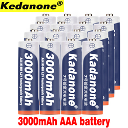 8~20 New AAA battery 3000 mAh 3A Rechargeable battery NI-MH 3A 1.2 V aaa battery for Clocks, mice, computers, toys so on