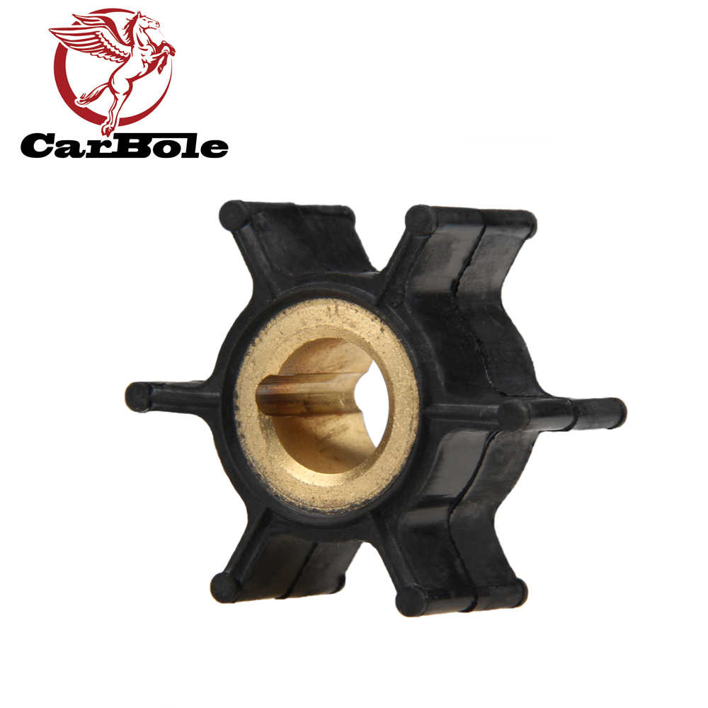 CARBOLE Marine Water Pump Impeller FOR Johnson Evinrude/ OMC Outboards 389576 18-3091 Blades 6 Impellers Boat Parts Accessories