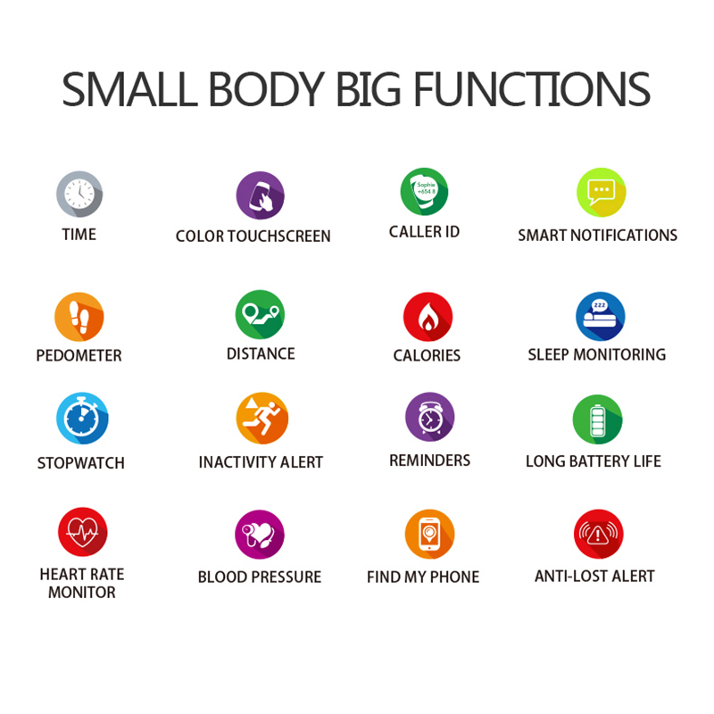 F9 Sports IP67 Smart Watch fitness bracelet activity tracker heart rate monitor blood pressure for ios Android apple iPhone 6 7 Pakistan