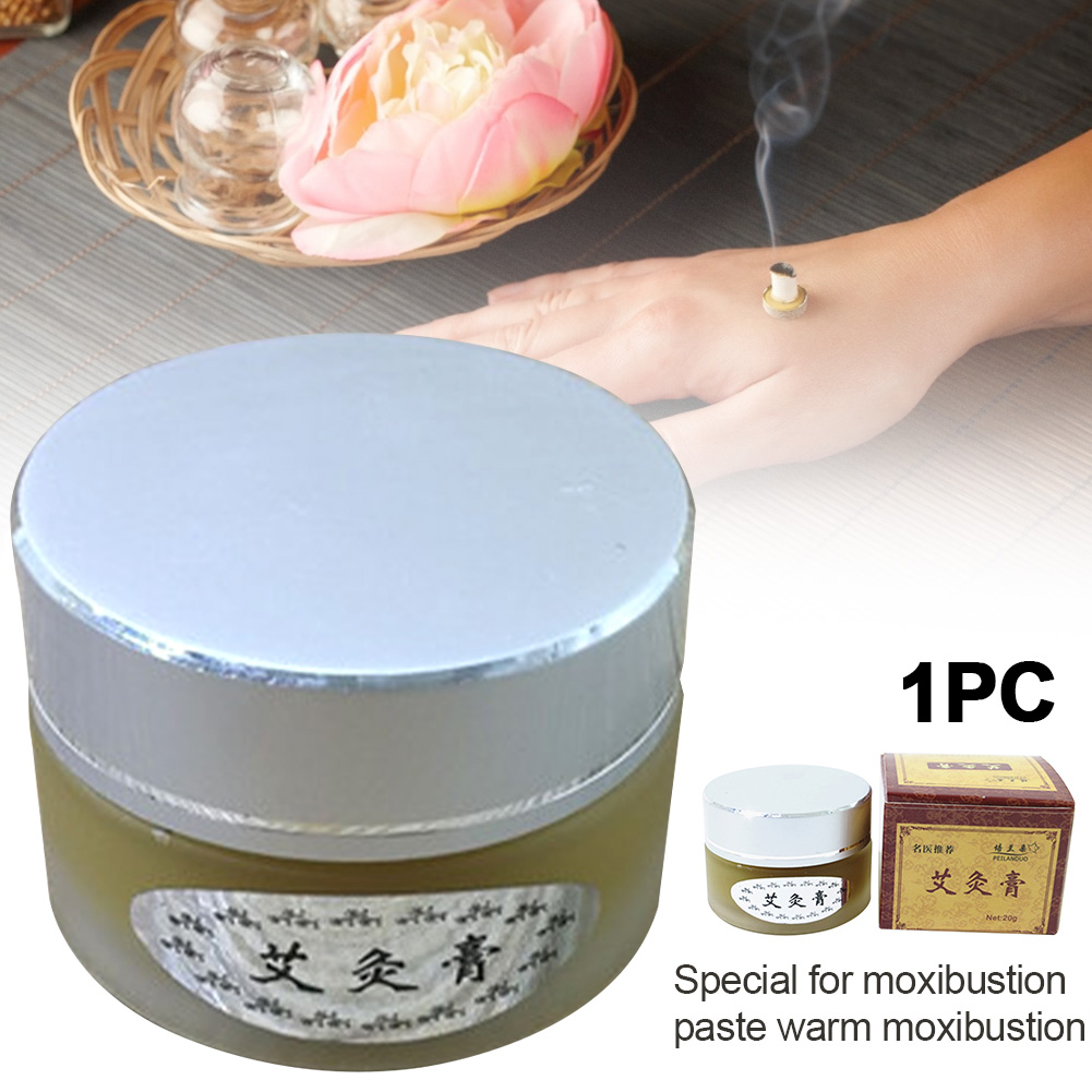 Moxibustion Cream Home Balm Skin Care Herbal Moxa Relief Arthritis Repair Universal Scrapping Mugwort Back Pain Massage Oil Neck
