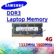 Samsung ddr3 4GB 1333MHz 1600MHz RAM Sodimm Laptop Speicher pc3-10600S 12800S 2GB 8GB 16GB 32GB