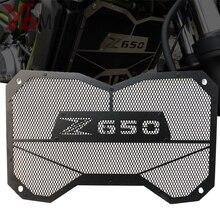 Высококачественная мотоциклетная решетка радиатора, защита резервуара для воды, защита для Kawasaki Z650 Z 650 2017 2018, аксессуары