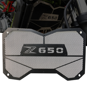 Image 1 - High Quality Motorbike radiator grille guard protection Water tank guard For Kawasaki Z650 Z 650 2017 2018 Accessories