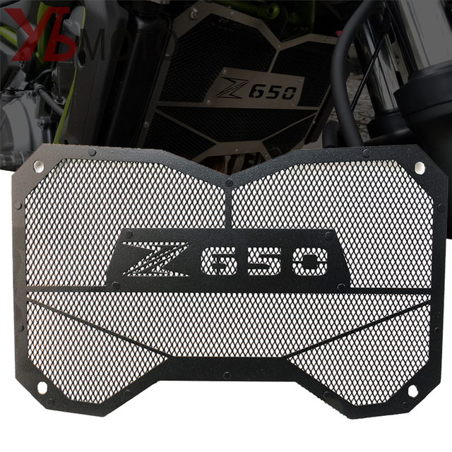 High Quality Motorbike radiator grille guard protection Water tank guard For Kawasaki Z650 Z 650 2017 2018 Accessories