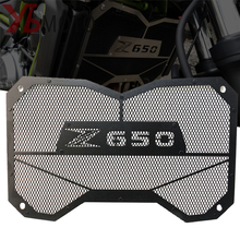 高品質バイクラジエーターグリルガード保護水タンクカワサキZ650 z 650 2017 2018 アクセサリー