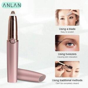 Image 3 - Eyebrow Trimmer Epilators Lipstick Brows Pen Hair Remover Epilator Shaver Razor Instant Painless Eyebrow Razor Epilator Portable