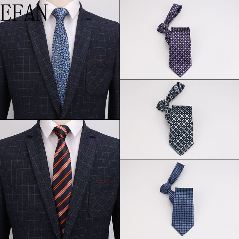 New Arrival Men's Ties 8cm Narrow Slim Silk Tie Casual Fashion British Style Wedding Skinny Ties Necktie Gifts For Men