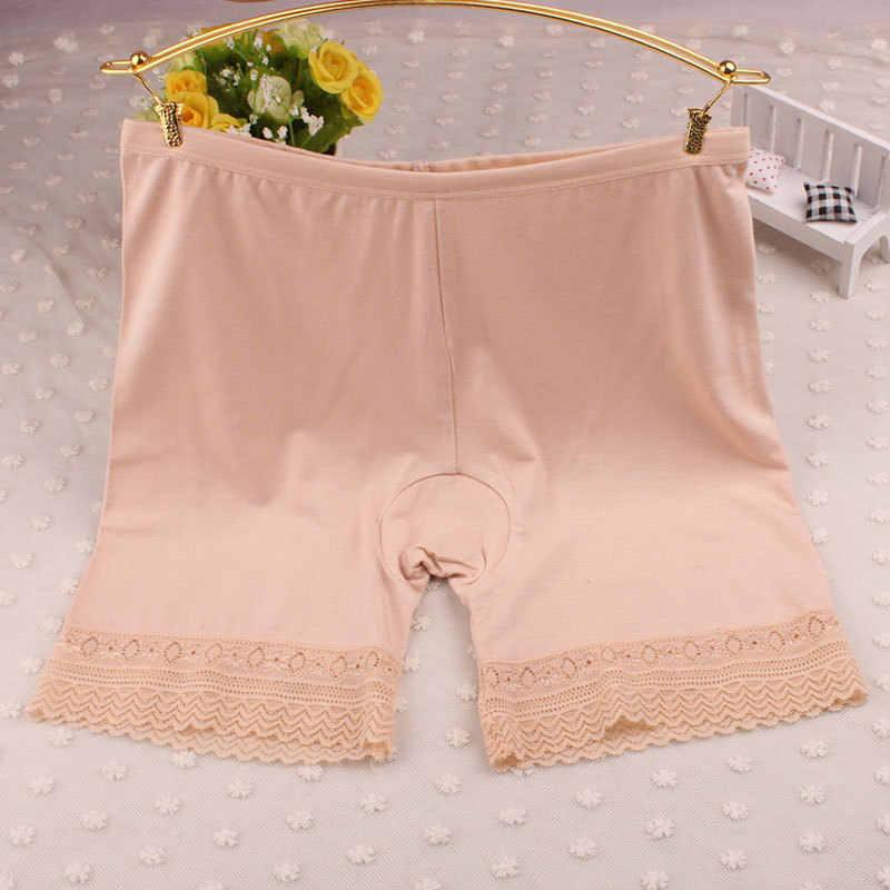 Feitong Yeni Seksi Kadın Güvenlik kısa pantolon Elastik Anti Reşo Dantel Pantolon iç çamaşırı Orta Bel Güvenlik kısa pantolon Yeni